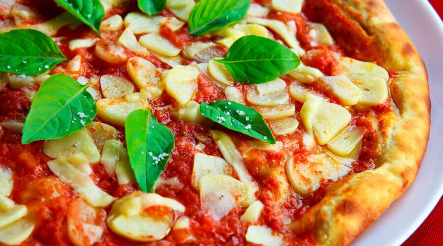 Quick Grilled Pizza